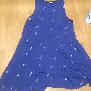 Old navy floral tank dress (XL)